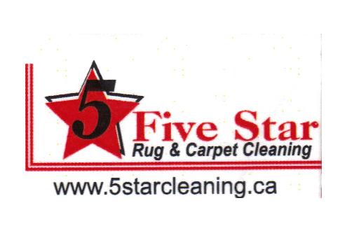 Five star cleaning logo  2