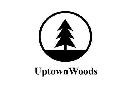 Uptown woods tag design