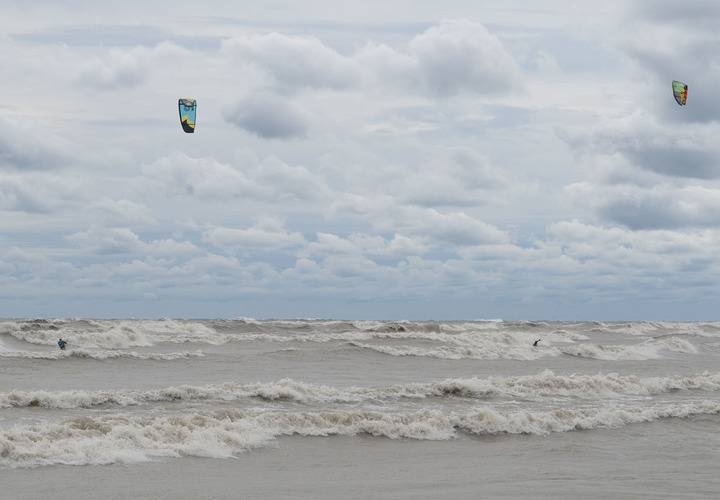 water, beach, ocean, surf, sea, seashore, recreation, no person, sky, leisure, wind, daylight, outdoors, sand, travel, action, kite, adventure, landscape, wave