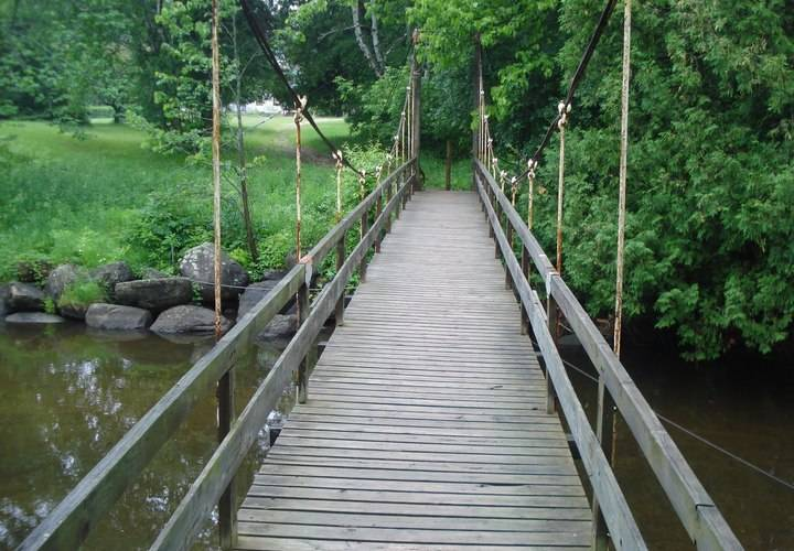 wood, bridge, nature, water, footbridge, no person, tree, guidance, outdoors, park, leaf, environment, river, summer, landscape, footpath, trail, walk, travel, road