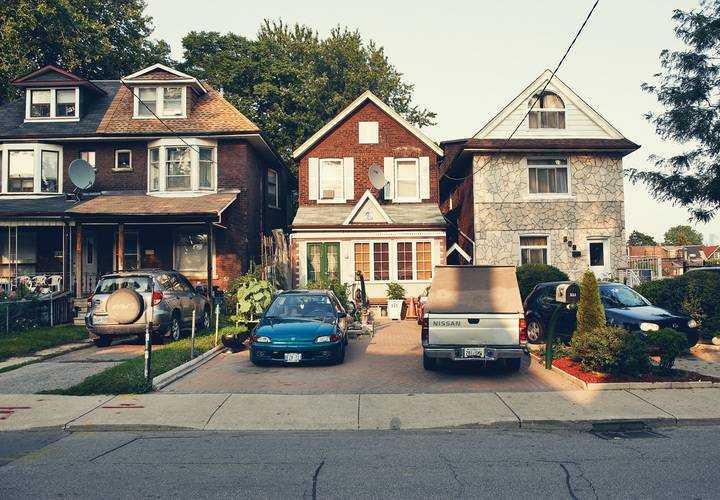 house, home, architecture, building, street, family, suburb, no person, pavement, driveway, town, lawn, suburban, outdoors, travel, roof, facade, realty, garage, front