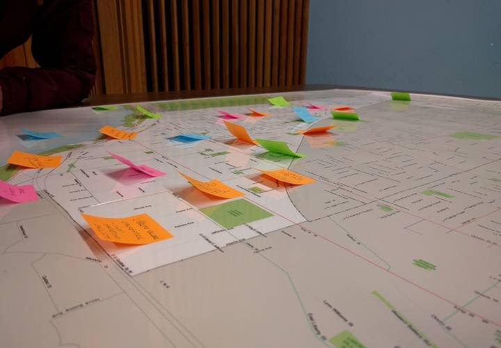 Local residents offered suggestions for better cycling infrastructure.