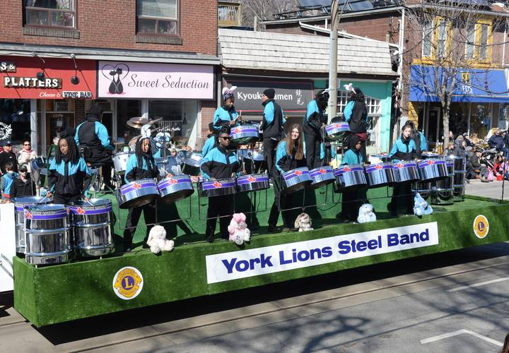 The steel band is always a favourite