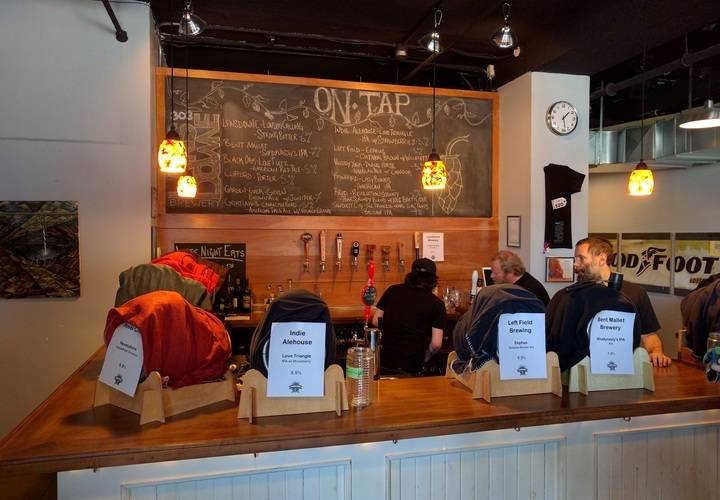 Eleven locally brewed craft beers