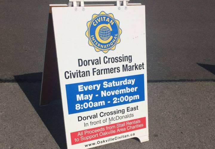 Welcome to the Civitan Farmer's Market!