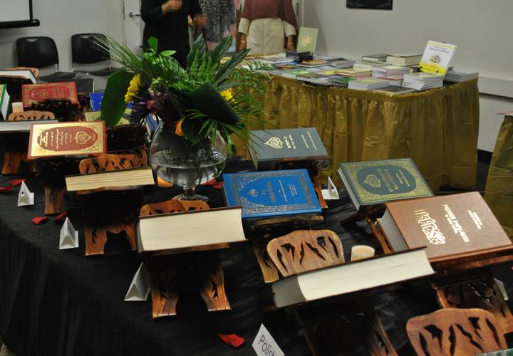 Holy Quran Exhibition - 21 Translations of Holy Quran were displayed