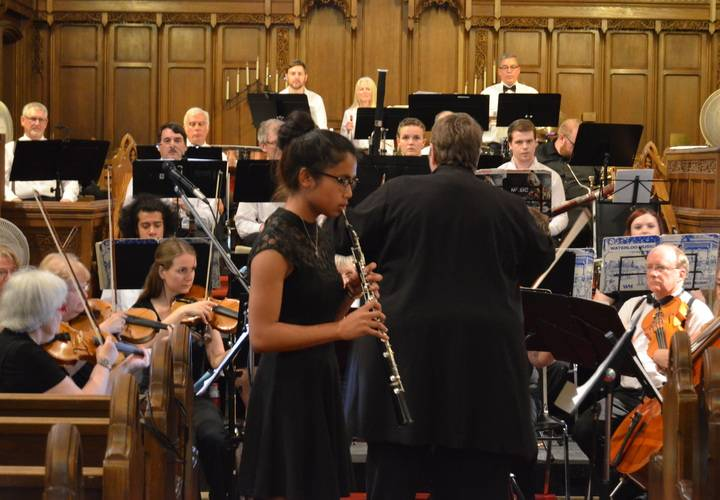 "Lindsey Rynders performing ""Orientale"" by Cesar Cui with the DVO"