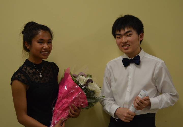 Lindsey Rynders and Yuang Chen DVO Concert Guests May 29, 2016