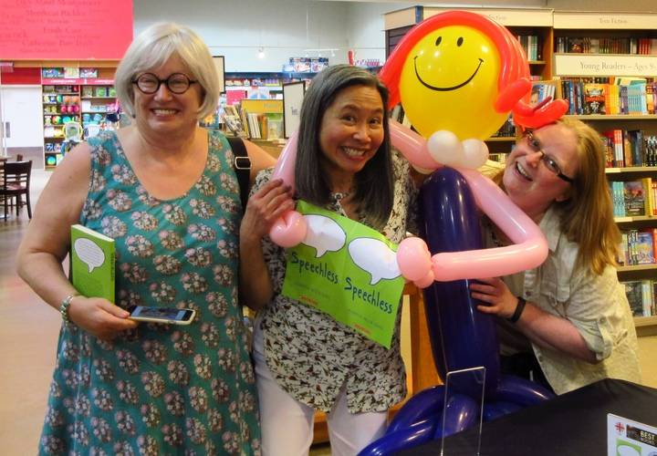 authors GILLIAN CHAN and JOANNE LEVY brought the levity
