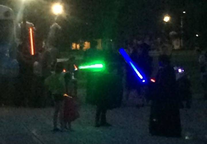 Our Lightsabre Fighting