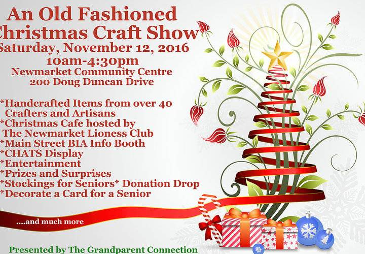 2016 old fashioned christmas craft show