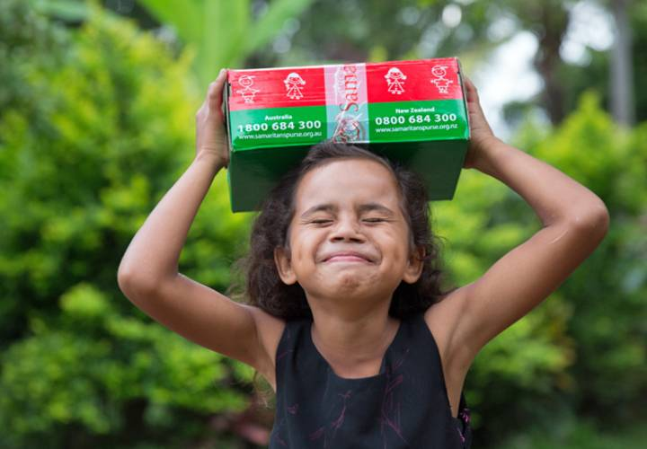 Operation Christmas Child takes gift-filled shoeboxes to children!