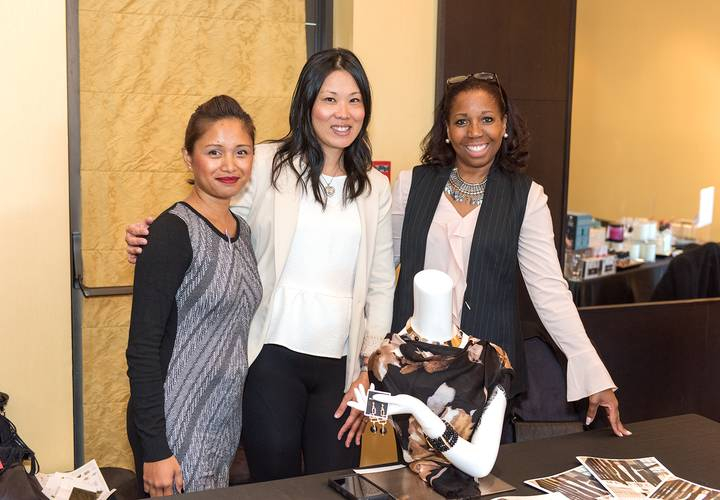 Esther (MLF), Winnie Ng (Event Organizer), Marcia Fraser (Melanie Lyne Fairview)