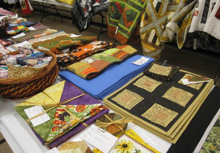 Some of the smaller items from the Quilt Sale Sept. 10, 2016