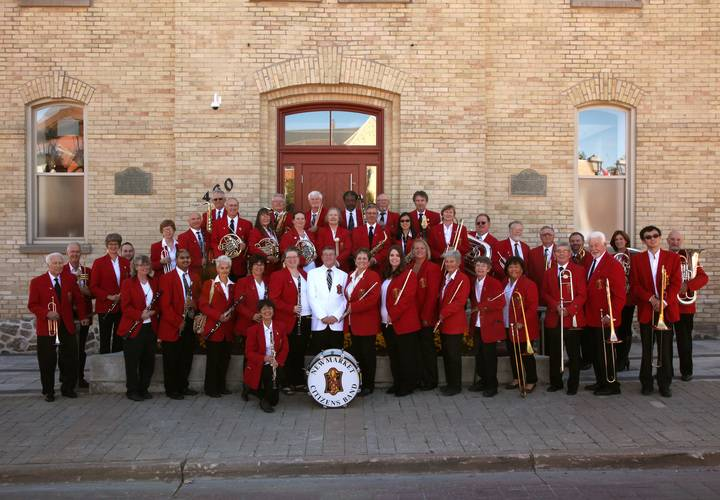 Newmarket Citizens' Band first to perform at the Old Town Hall Open House