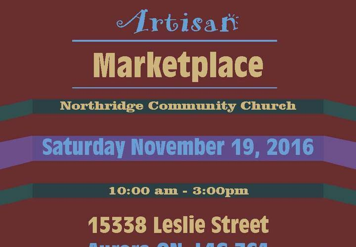 Christmas 2016 artisan marketplace