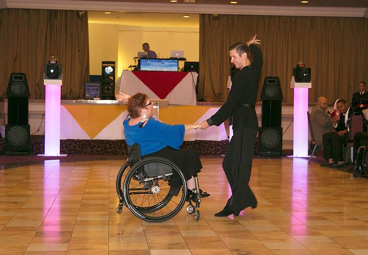 2 dancers from WheelDance