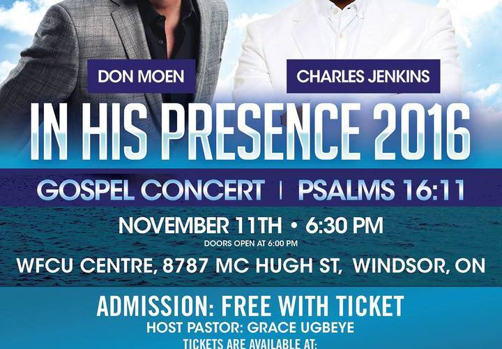In his presence 2016 poster