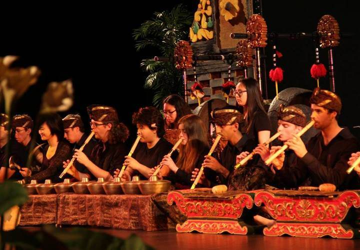 Grebel community Balinese Gamelan
