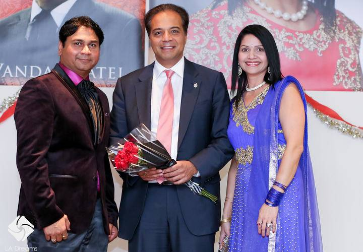 from Left Vandan, Raj Saini, Jyoti Joshi