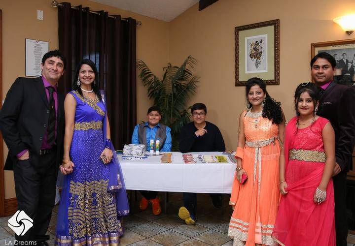 From Left Andrew, Jyoti Joshi, Rahul, Vinay, Hetal, Vaishvi, and Vandan