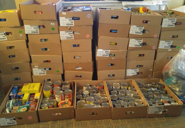 Reaper's Gate 2016    48 boxes of non-perishable food