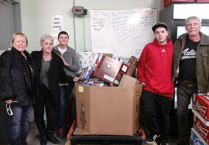Bar Flys and Take-A-Break deliver 673 lbs food