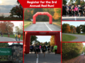 Register for the 3rd annual red run
