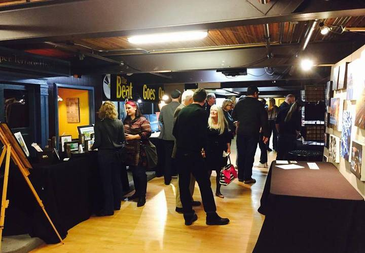 In addition to five bands, there was an art show and silent auction.
