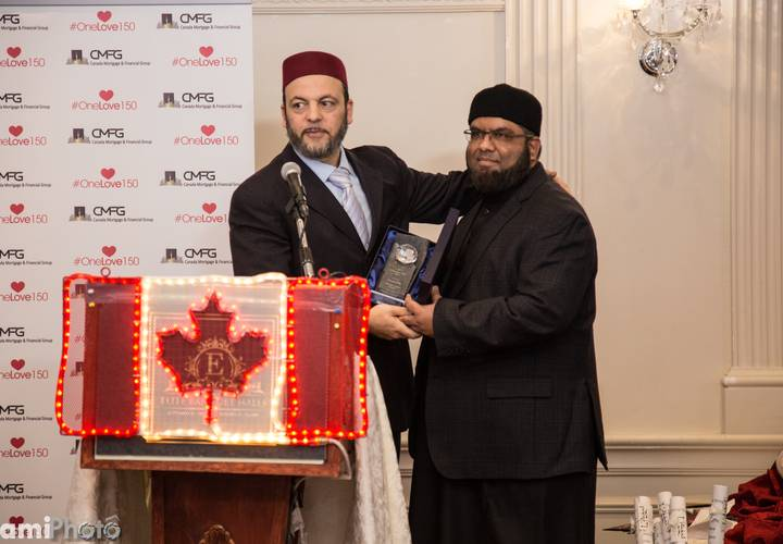 Imams Hamid Slimi and Imran Alli