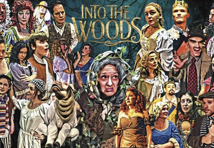 """Into the Woods"" Character Art"