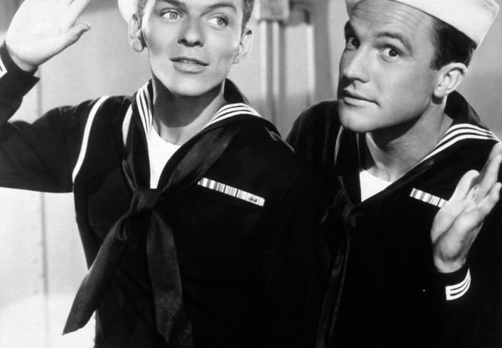 Gene Kelly and Frank Sinatra in Anchors Aweigh