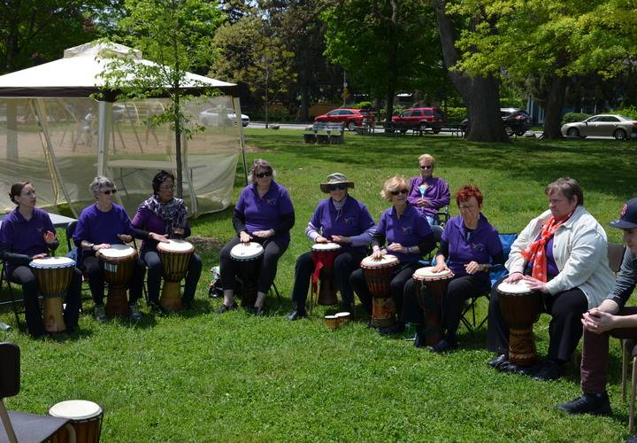 WomEnchant Drummers