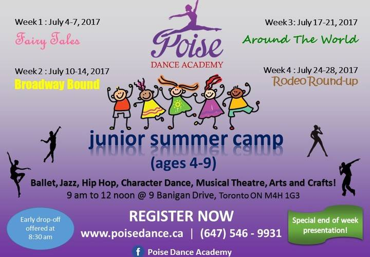 2017 junior summer camp