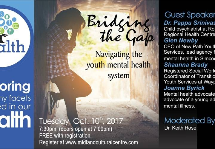 Our health   bridging the gap   banner