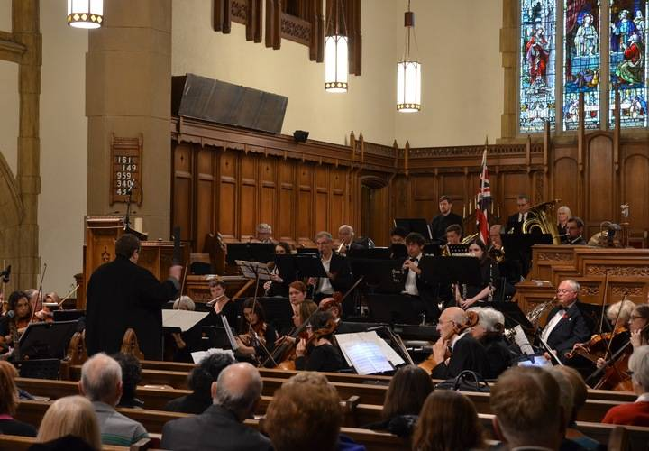 "Dundas Valley Orchestra in performance ""Autumn in the Valley Concert"""