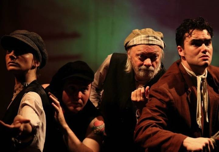 Les miserables   nina gilmour  daniel roberts  dean gilmour  benjamin muir. photo by elisa gilmour lg