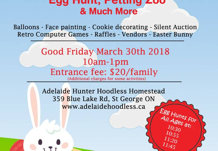 Website easter poster
