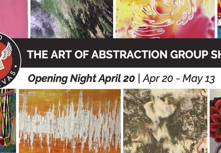 Art of abstraction 2018 event banner