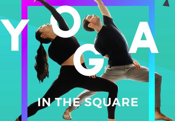 Yoga in the square sm