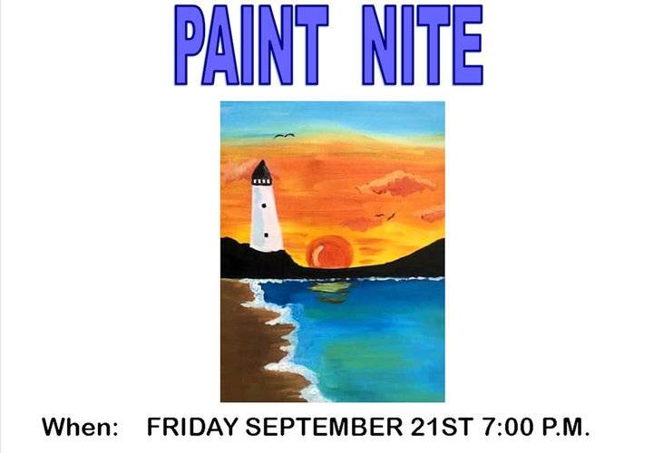 Paint night poster final