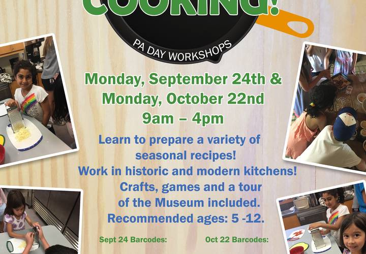 Get cooking workshop 2018 both dates