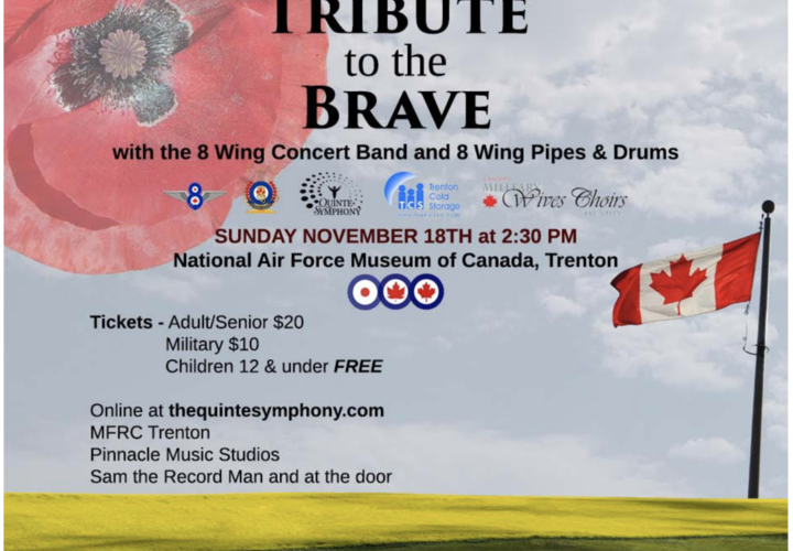 Tribute to the brave