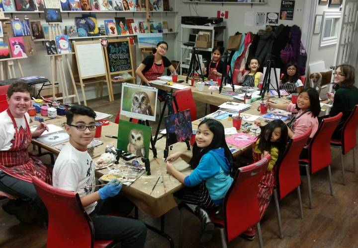 20170120 pa day painting class