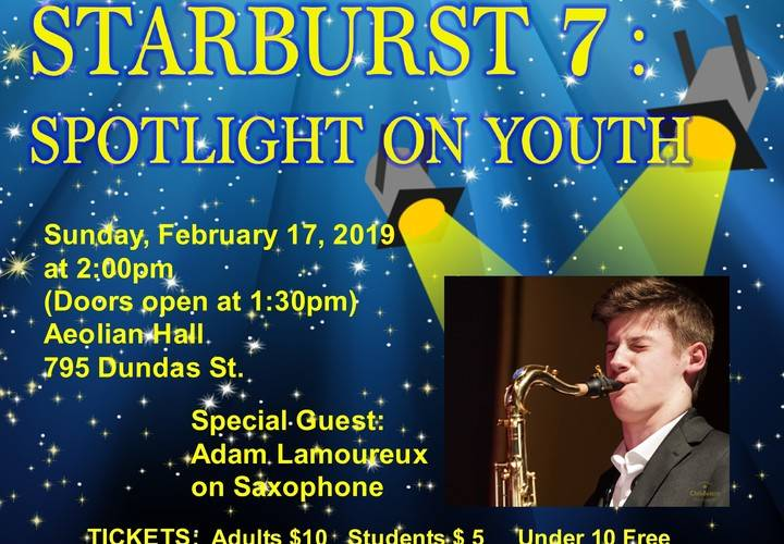 Lcb   poster   starburst 7 spotlight on youth   feb. 17  2019