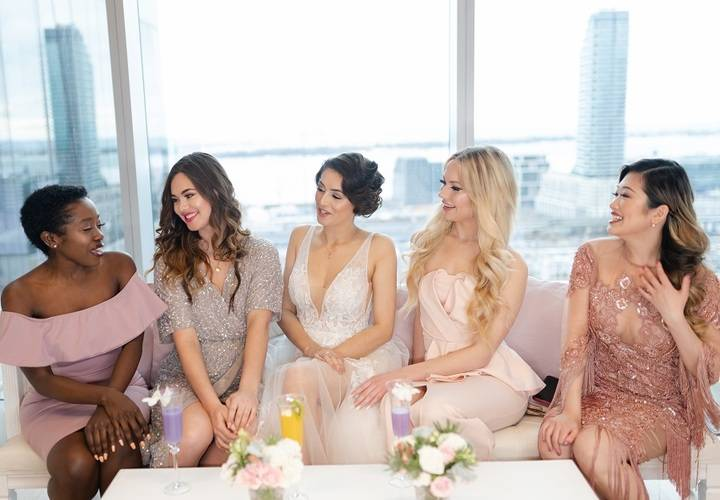 Toronto bridal brunch influencer event prequel