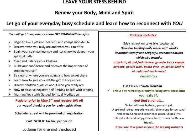 Retreat at house flyer june 22nd 23rd  2019  page 001