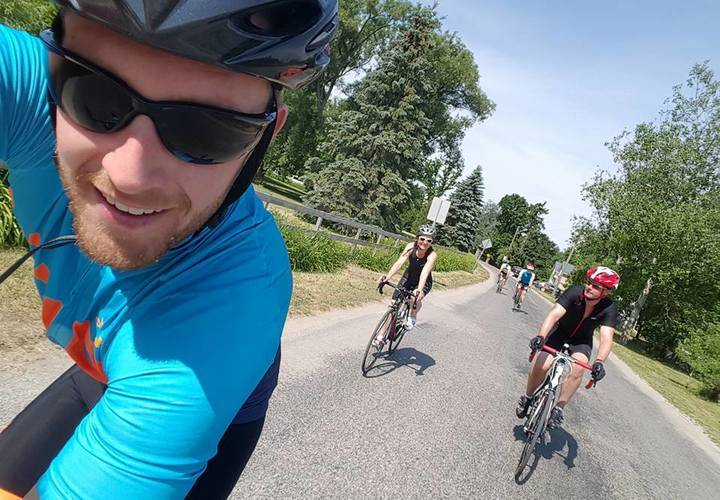 Gtc on 115km tour de guelph