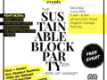 Blockparty flyer square