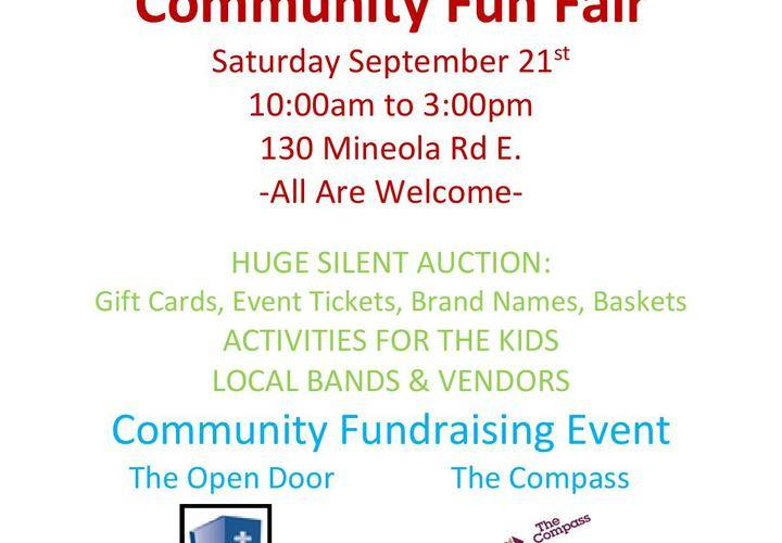 Community fun fair 2019
